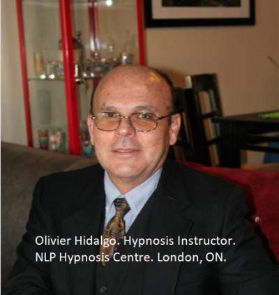 Olivier Hidalgo. Instructor Certificado de Hipnosis.